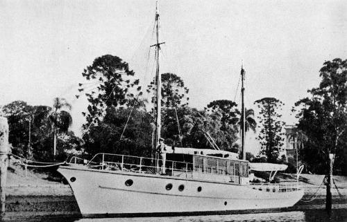 Ship from Blue Lagoon Suva Fiji