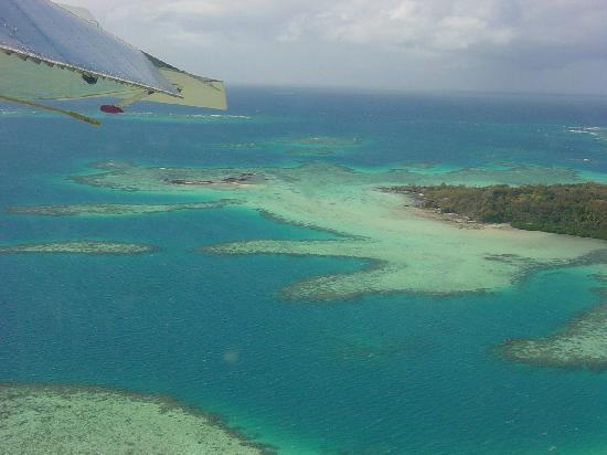 Approaching Turtle Island Fiji