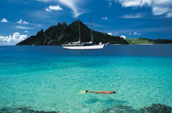 Fiji sailing with South Sea Cruises