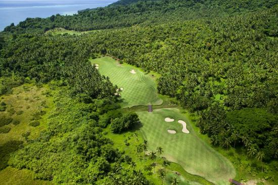 Laucala Golf Course Hole 3 in Fiji