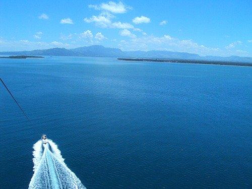 Fiji vacation activities - parasailing  near Denarau Island