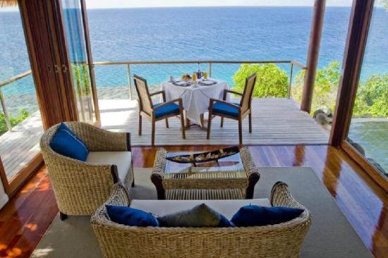 Royal Davui Island Resort view out