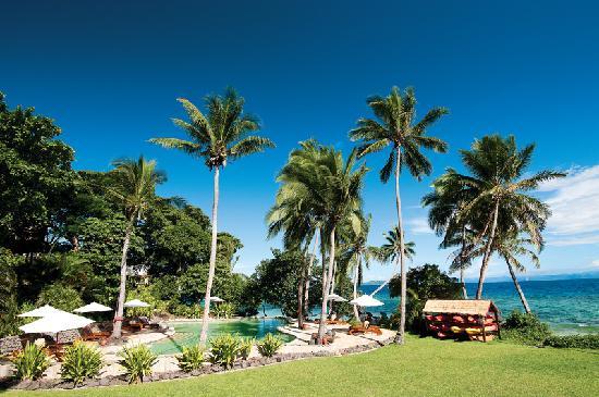 Royal Davui Island Resort pool in Fiji