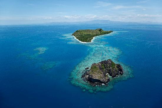 Vomo Island and Vomo Lailai Island
