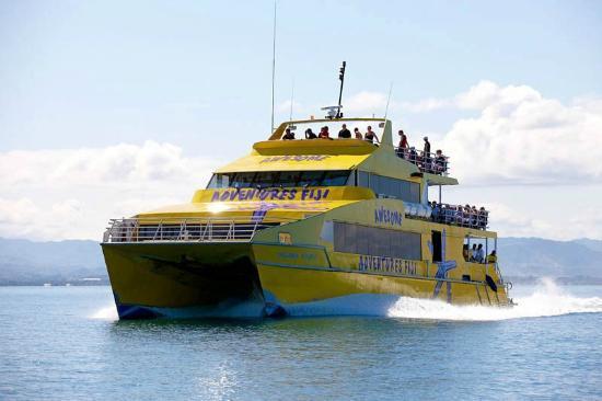 Yasawa Flyer is for Fiji island hopping in the Yasawas