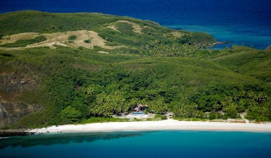 The secluded honeymoon bure at Yasawa Island Resort Fiji